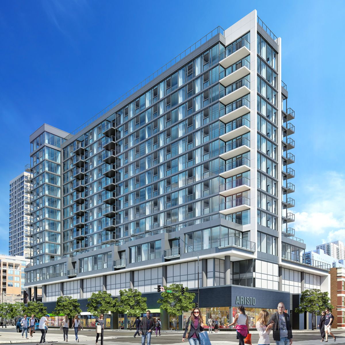 New Apartment Buildings Chicago: A Closer Look At Apartment Development Headed To Huron And