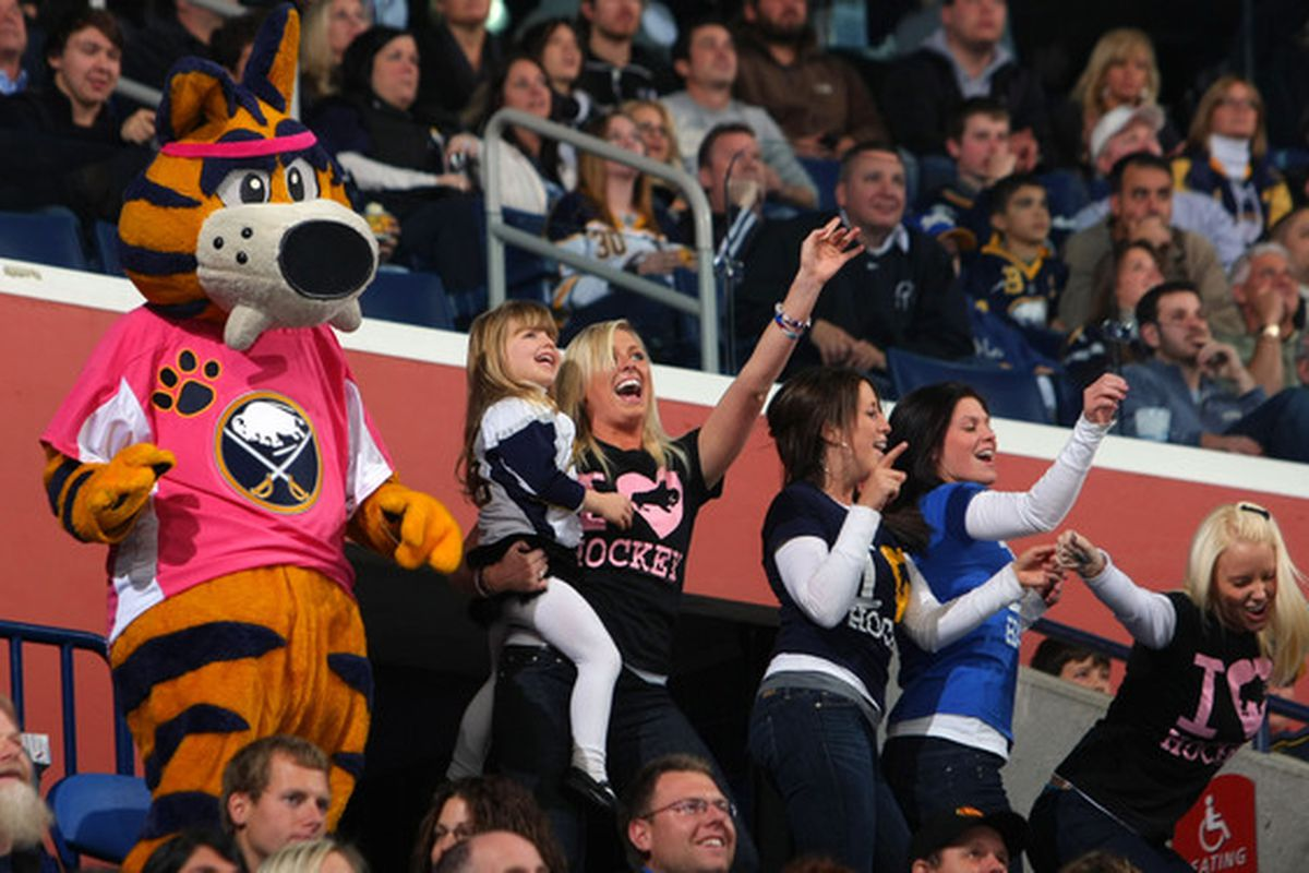 Gary Bettman praised Sabres fans for having both the most unique and most tasteful dance moves in the NHL.