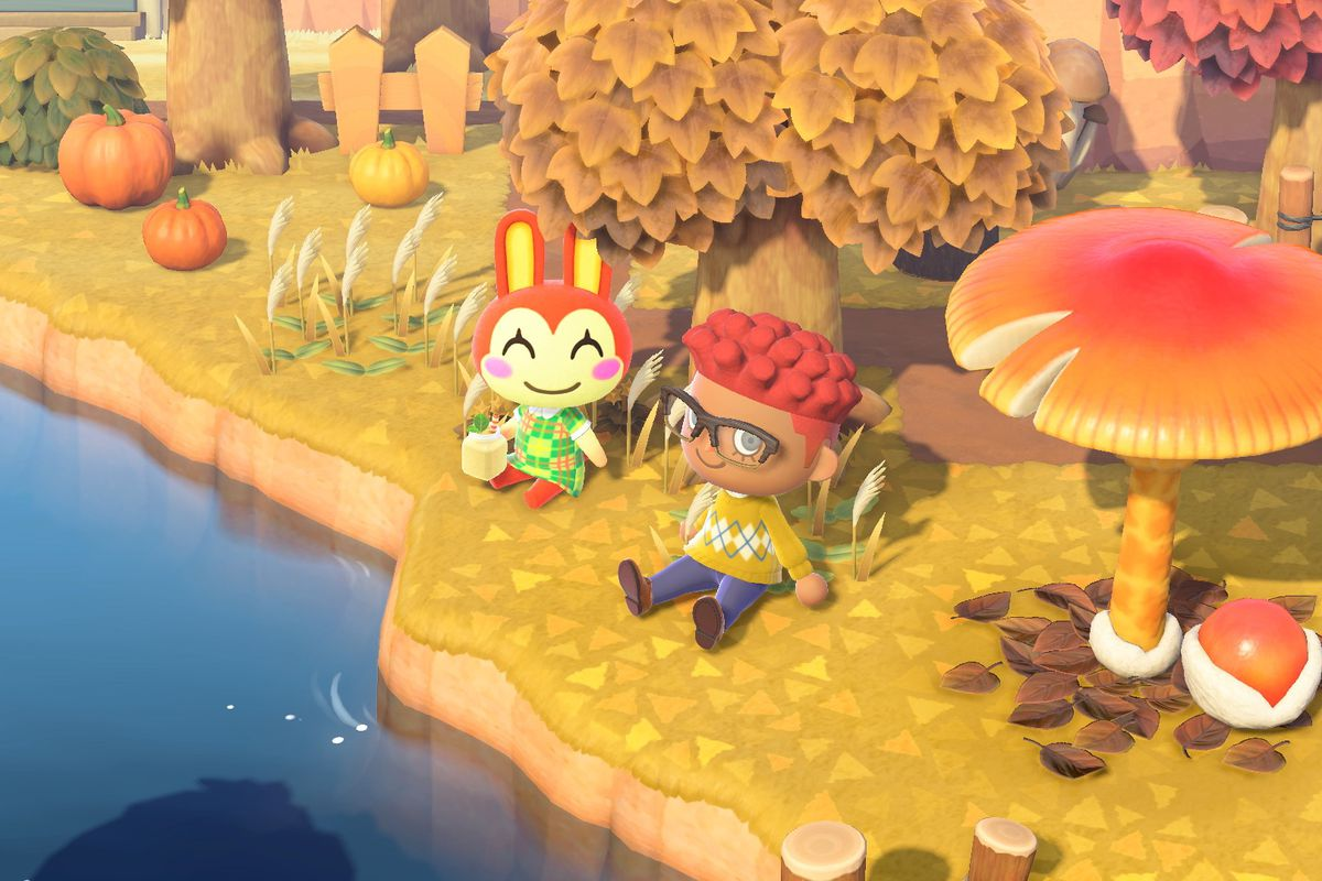 Animal Crossing: New Horizons players are eager to sit down with their  villagers - Polygon