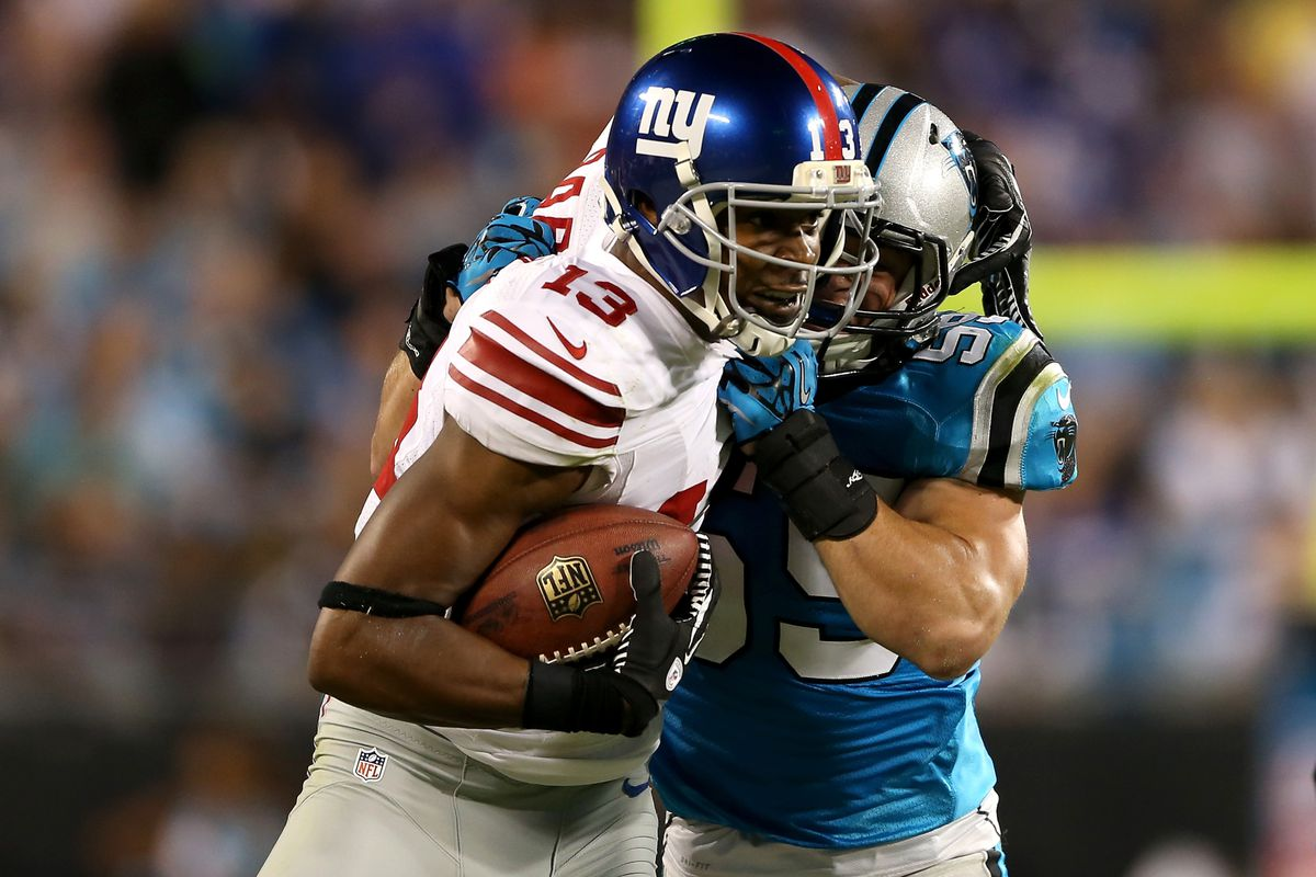 Ramses Barden is back with the Giants