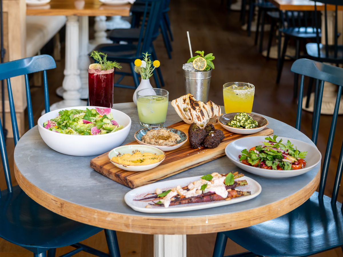 A full spread at Wildseed