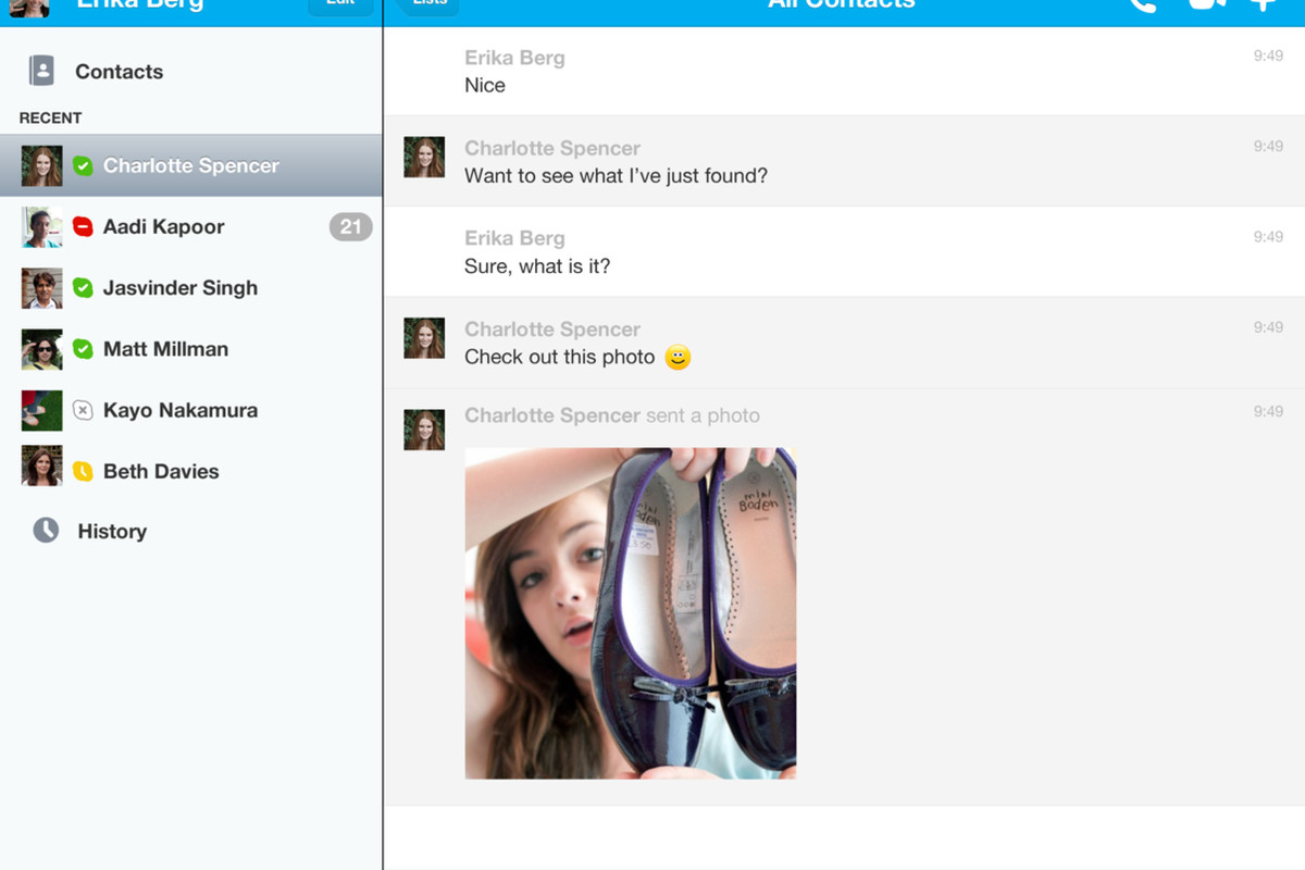 skype for ios