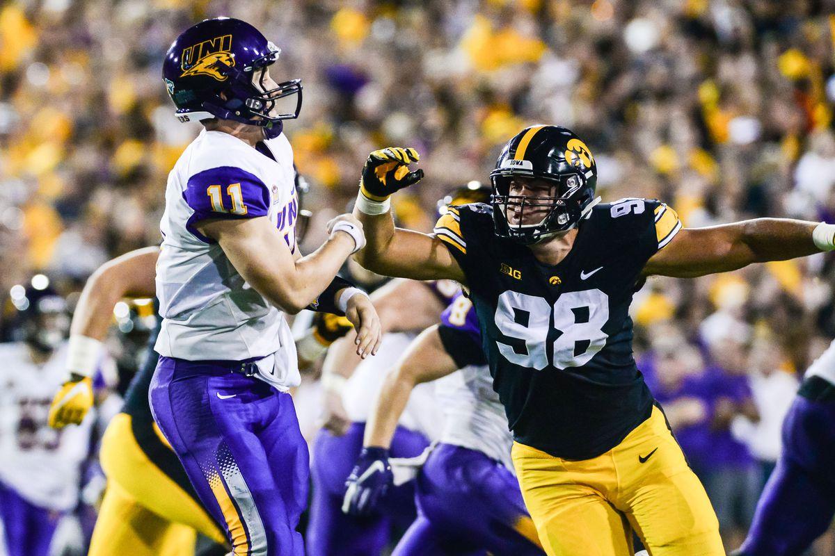 NCAA Football: Northern Iowa at Iowa