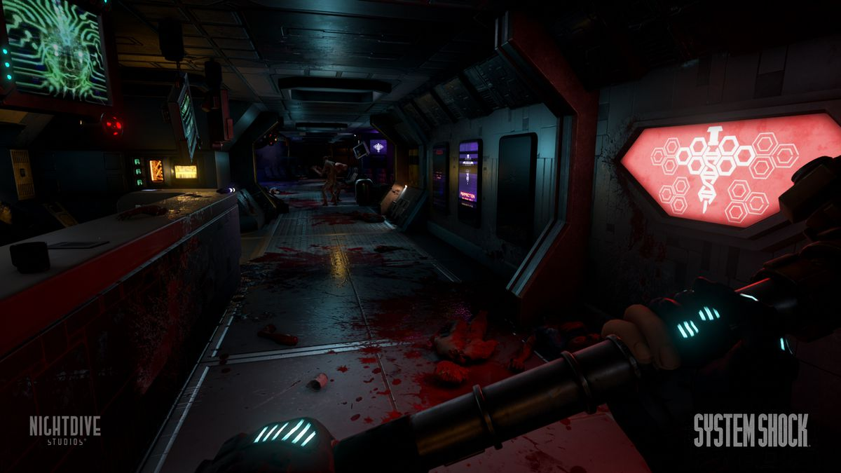 See what the System Shock reboot looks like in Unreal Engine