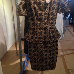 DSquared2 peplum dress: $477