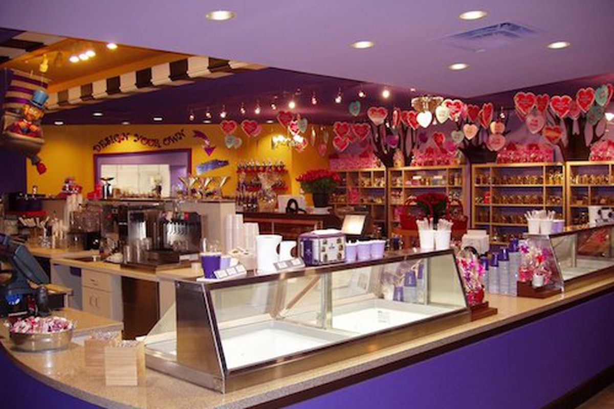 Inside The Chocolate Bar.