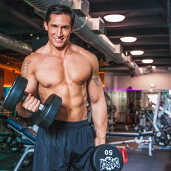 """<a href=""""http://ny.racked.com/archives/2013/08/15/hottest_trainer_contestant_20_will_miller.php""""><b>William Miller</b></a>.  Photo by <a href=""""http://peladopelado.com/"""">Driely S</a>"""