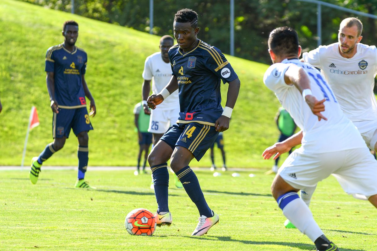 Eric Ayuk spent most of the year with Bethlehem Steel FC.