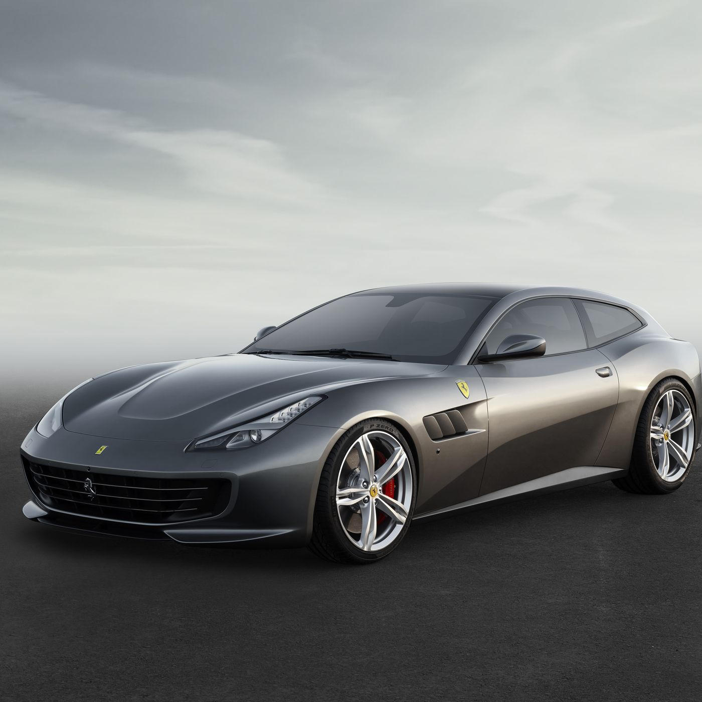 The Closest Thing To A Ferrari Family Car Is Now The Gtc4lusso The Verge