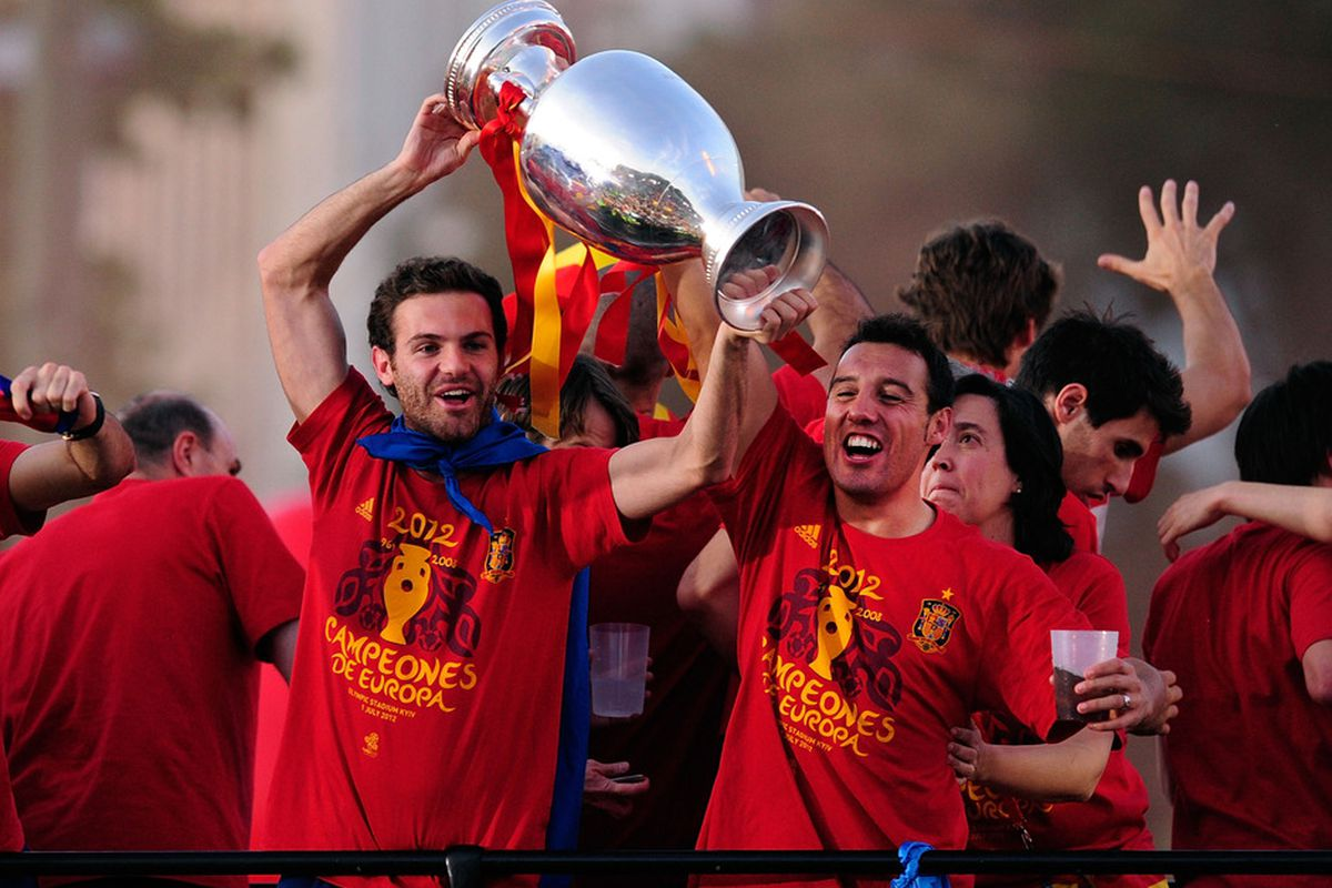 Mata and Cazorla are both products of Real Oviedo's cantera youth system