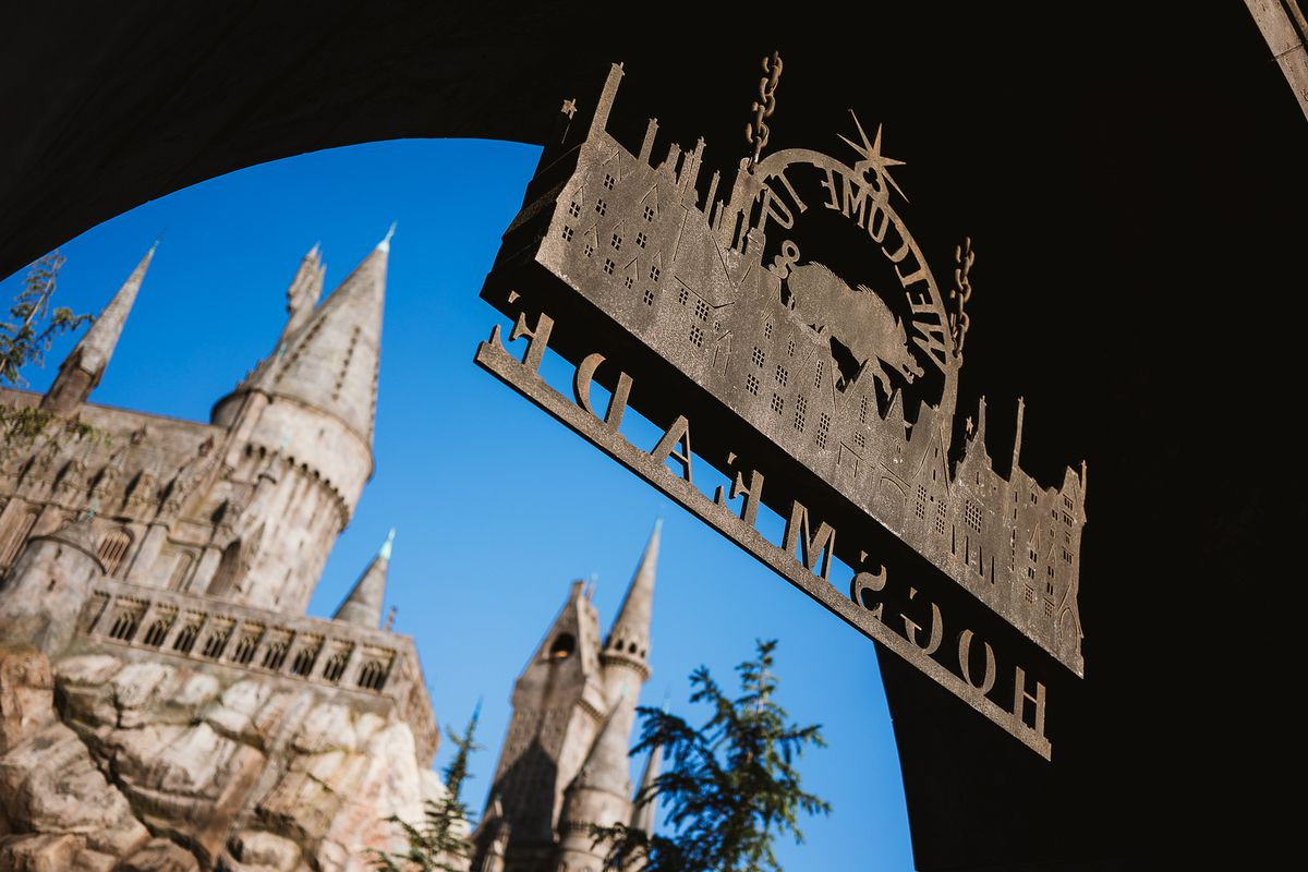 Hogsmeade at Universal Studios Hollywood, opened in 2016.