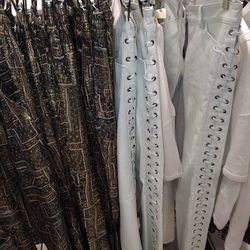 Plenty of white leather pants (and black ones) are still available. Could it be the price? These guys go for nearly $300 a pop— which is more than we'd pay to look like Steven Tyler, personally. Photos: Jenny Berg