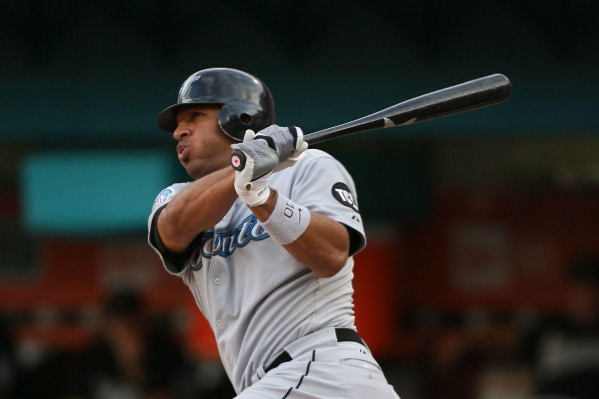MLB: Toronto Blue Jays at Florida Marlins