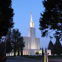 The Bern Switzerland Temple was dedicated in 1952.