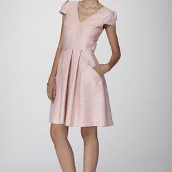 "KatieM Retro V-Neck Dress, <a href=""http://www.shopnarapaz.com/KatieM-Retro-V-Neck-Dress-201-100-100.htm"">$650</a>"