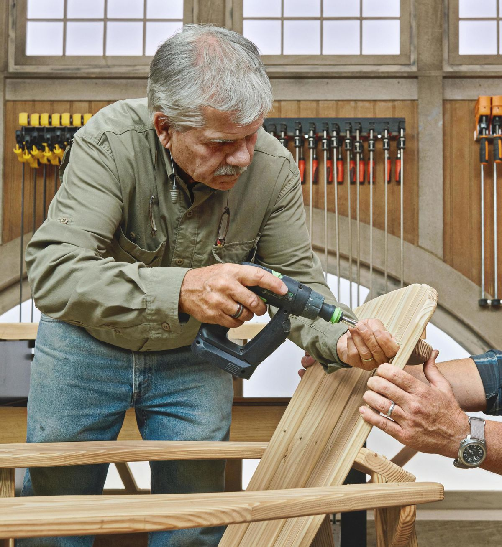 Summer 2021, Build It, Adirondack chair, step 12