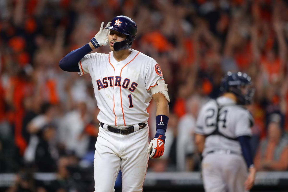 Astros 2019 >> Mlb Playoffs 2019 Houston Astros Beat New York Yankees In