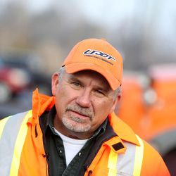 Neil Lundell, Utah Department of Transportation's Region 3 supervisor, speaks to members of the media at the Calvin Rampton Building in West Valley on Friday, Jan. 13, 2017, about a snowplow crash that occurred Thursday in Spanish Fork Canyon.