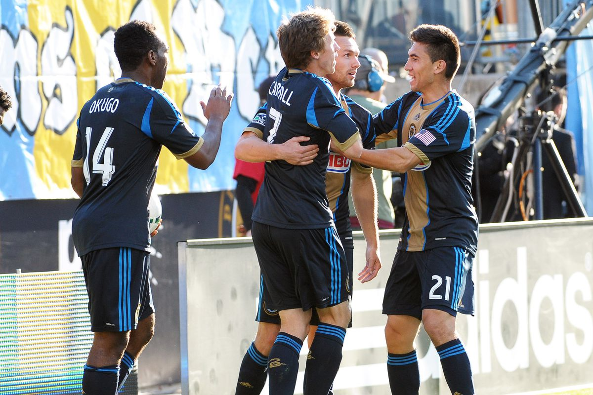Jack McInerney & Co. celebrate tying the match against TFC in their last meeting in April