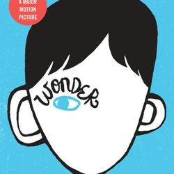 """The Persian Pickle Club recommended """"Wonder"""" by R.J. Palacio."""