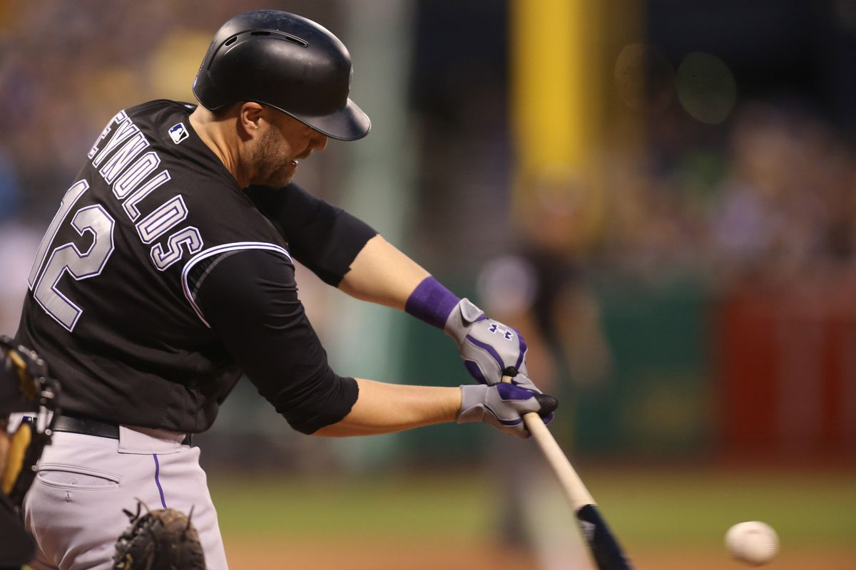 Despite hitting just 2 HRs, Reynolds has been one of the best hitting 1Bs in the majors this year.