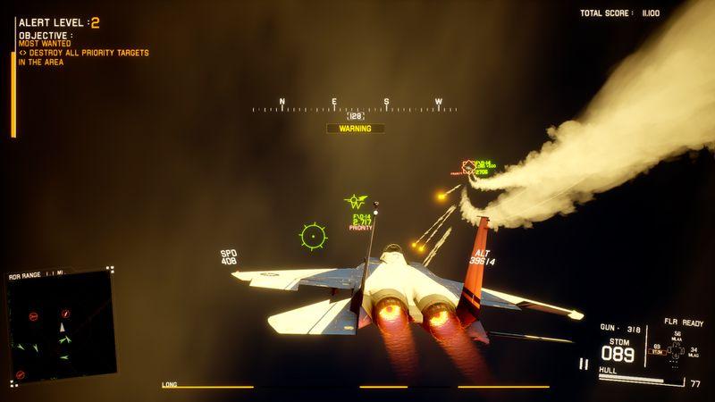 O projeto Wingman na Steam parece um Top Gun misturado com um roguelike 3