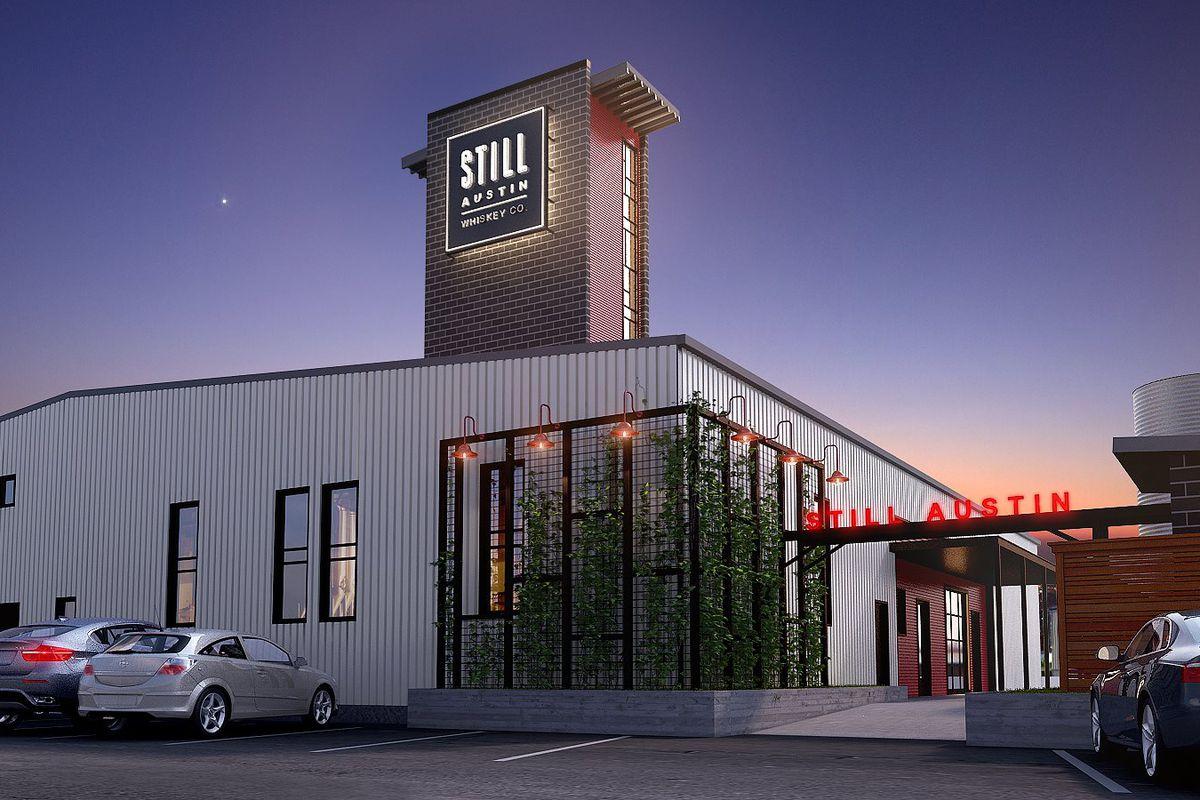 Rendering of Still Austin Whiskey Co.