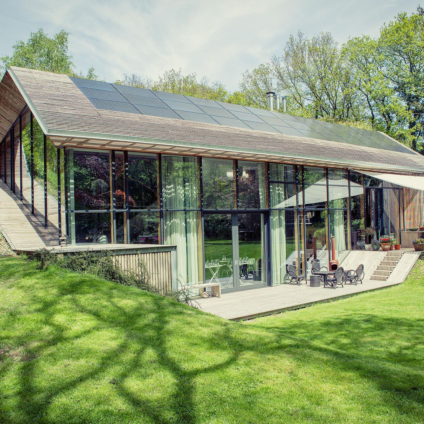 Sustainable Dutch Home For Sale Comes With Surreal Custom Furniture - The-sieben-residence-by-oomen-architects