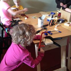 """Even little kids can learn to use tools safely and become """"makers."""""""