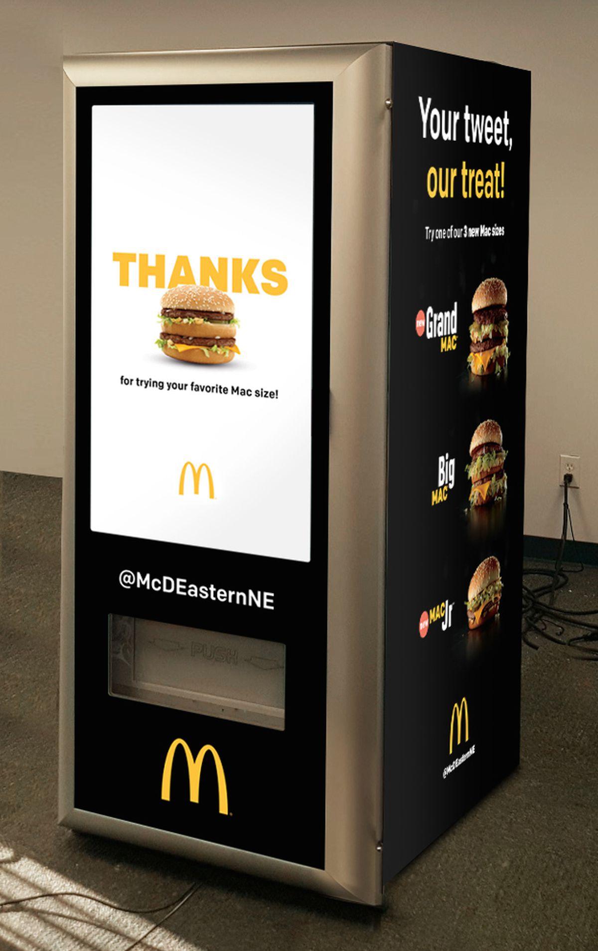 Mcdonald S New Big Mac Atm Requires Zero Human Interaction