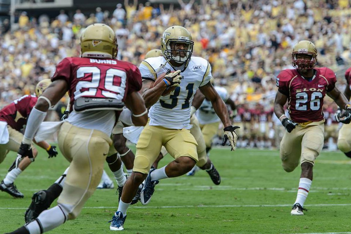 Deon Hill scored his first touchdown since last year's game at Virginia Tech.