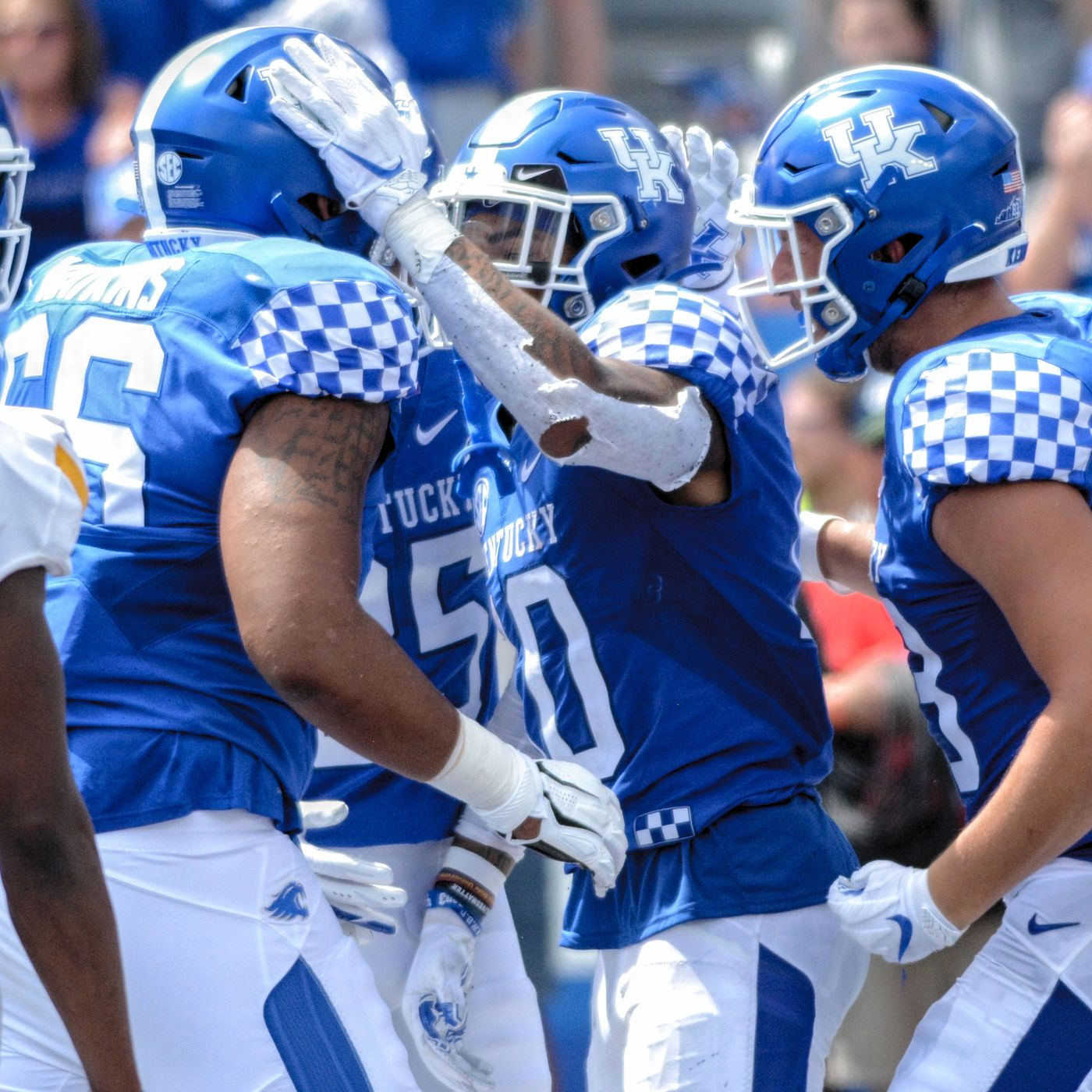 Kentucky Football Roster 2020 Numbers Heights Weights And More A Sea Of Blue