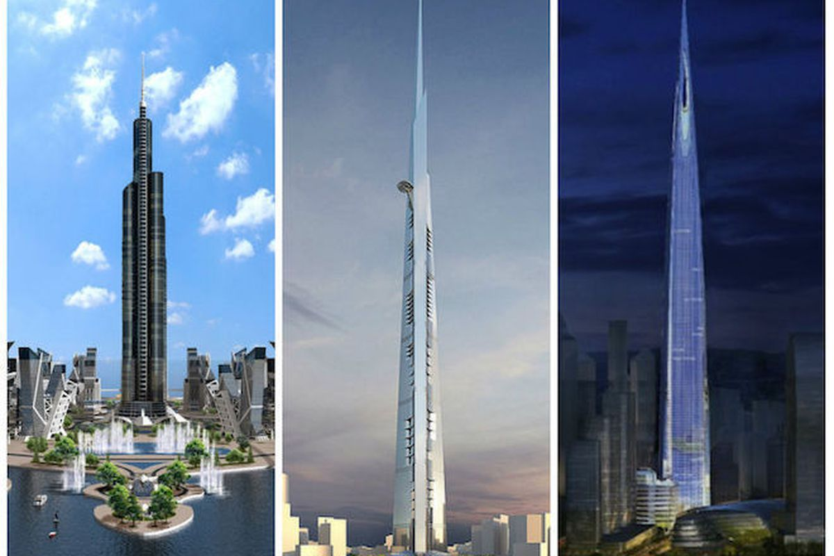 the 10 tallest buildings under construction or in