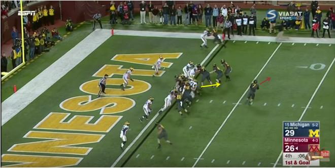FF - Minnesota - Hurst - Goal Line Pressure - 1