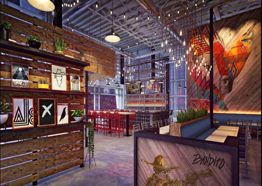 Bandito Latin Kitchen & Cantina rendering