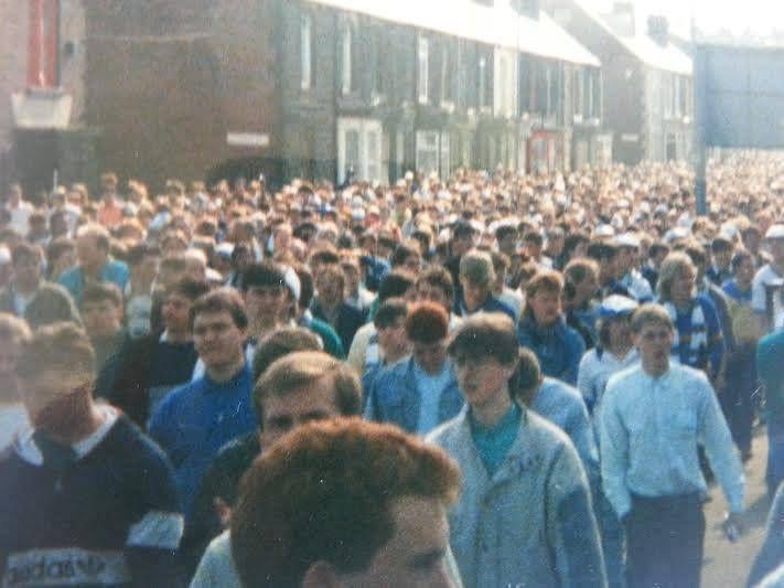 Blurred memories of the FA Cup Semi Final at Hilsborough