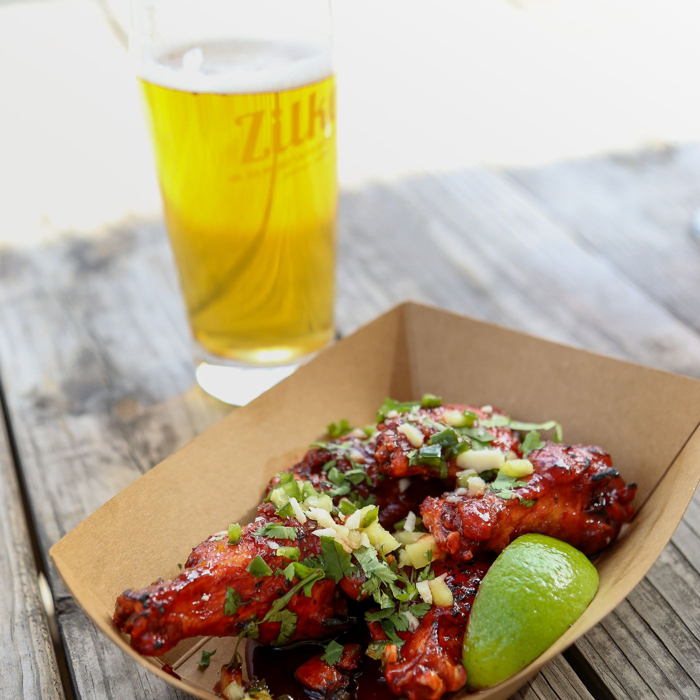 Food Truck Spicy Boys Makes CBD Chicken Wings for a Zilker Beer