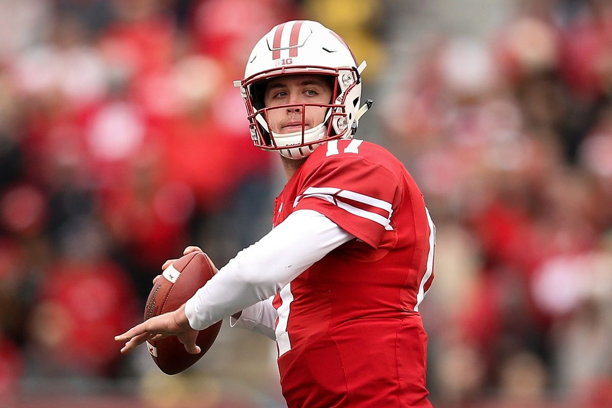 Wisconsin Football Badgers Adapt To Jack Coan At