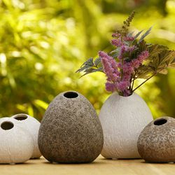 """Koski Bud Vases, Sprout Home, <a href=""""http://www.sprouthome.com/shop/vases-2/koski-bud-vases/"""">$7.50</a>"""