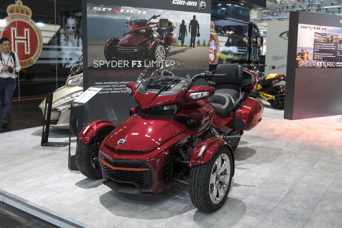 Intermot 2016 Motorcycles And Scooters Trade Fair
