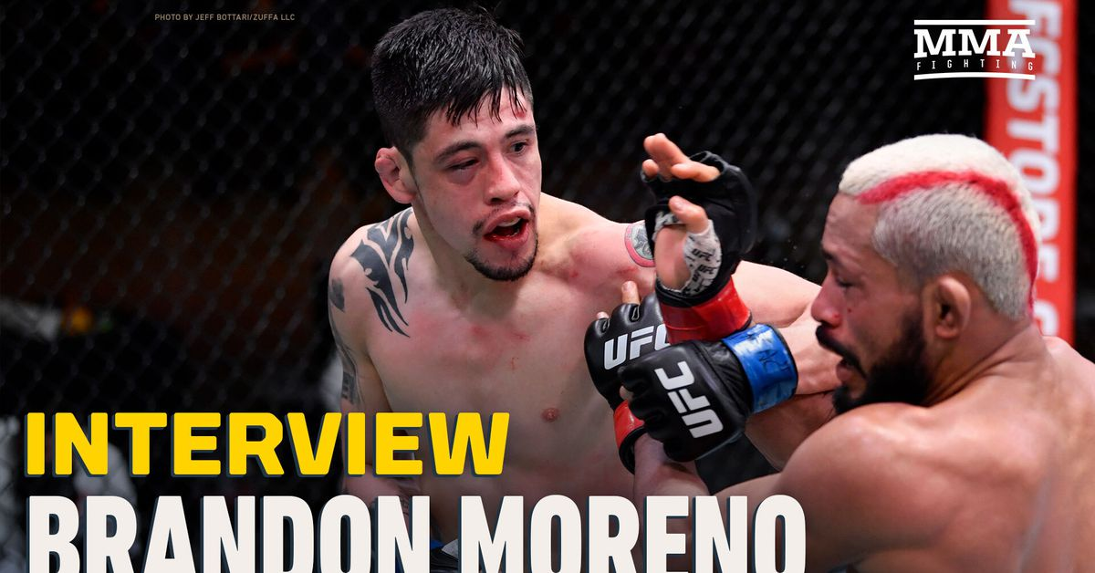 UFC News Today - Brandon Moreno on stomach issues Devieson Figueiredo revealed following UFC 256 draw: 'Those are excuses' | NewsBurrow thumbnail