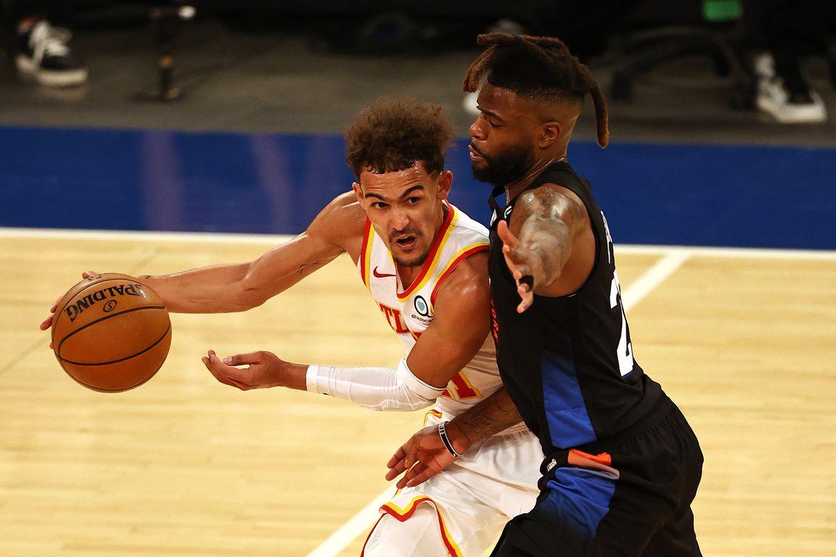 NBA: Playoffs-Atlanta Hawks at New York Knicks