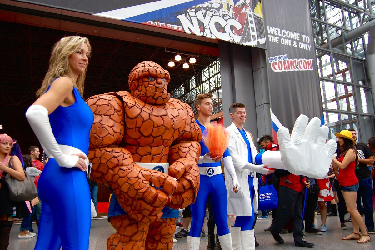 New York Comic Con 2017 All The News From Pop Culture Party For Fans