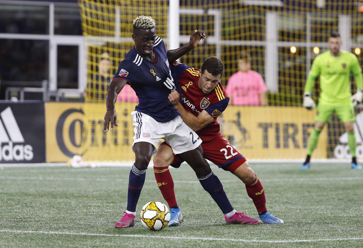 MLS: Real Salt Lake at New England Revolution