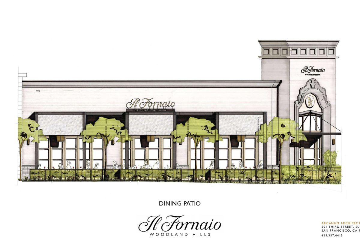 Upcoming Il Fornaio At The Village Westfield Topanga