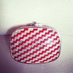 Everyone was dying over this vintage Judith Leiber clutch.