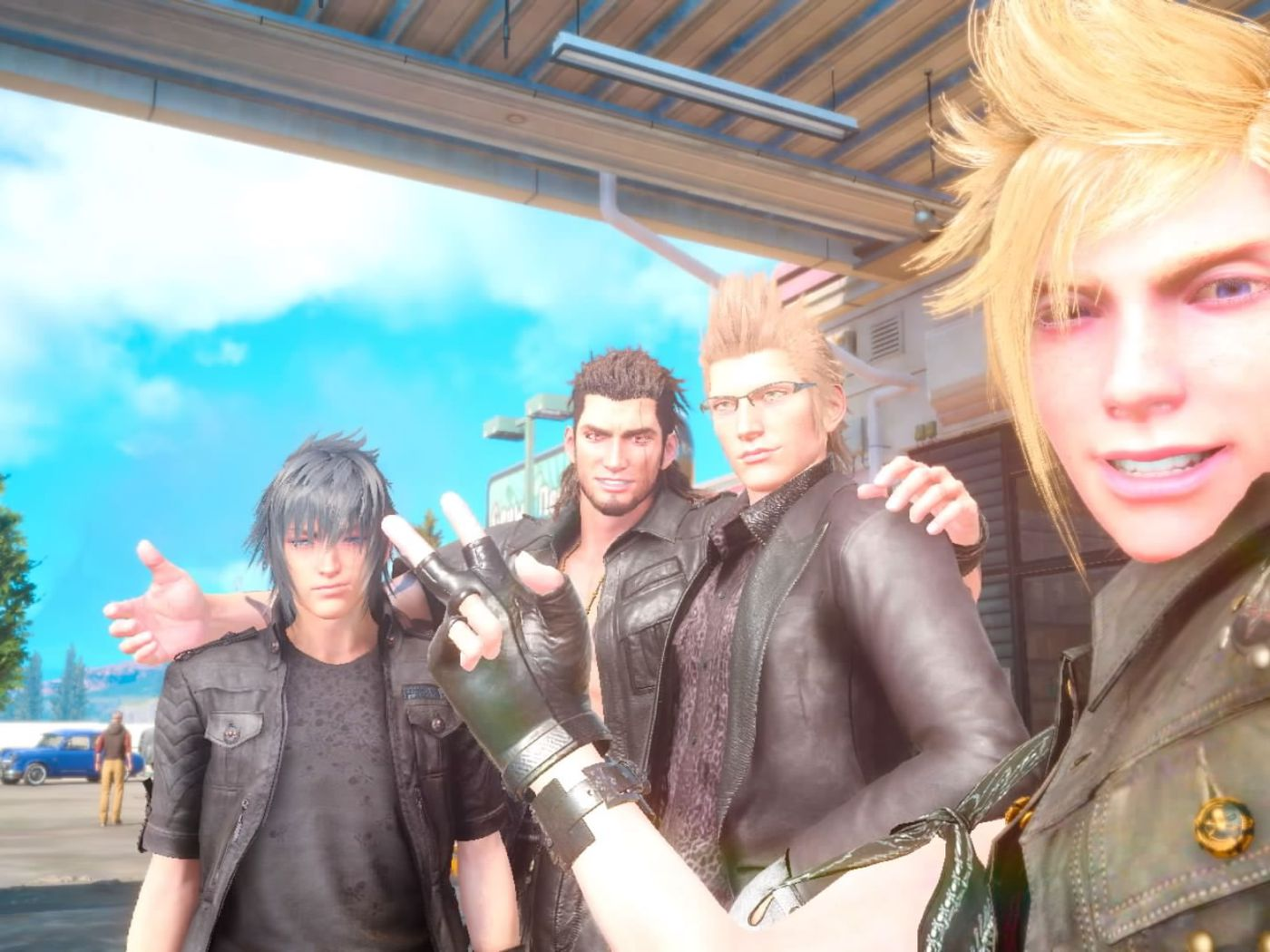 Final Fantasy Xv Everything You Re Too Embarrassed To Ask The Verge
