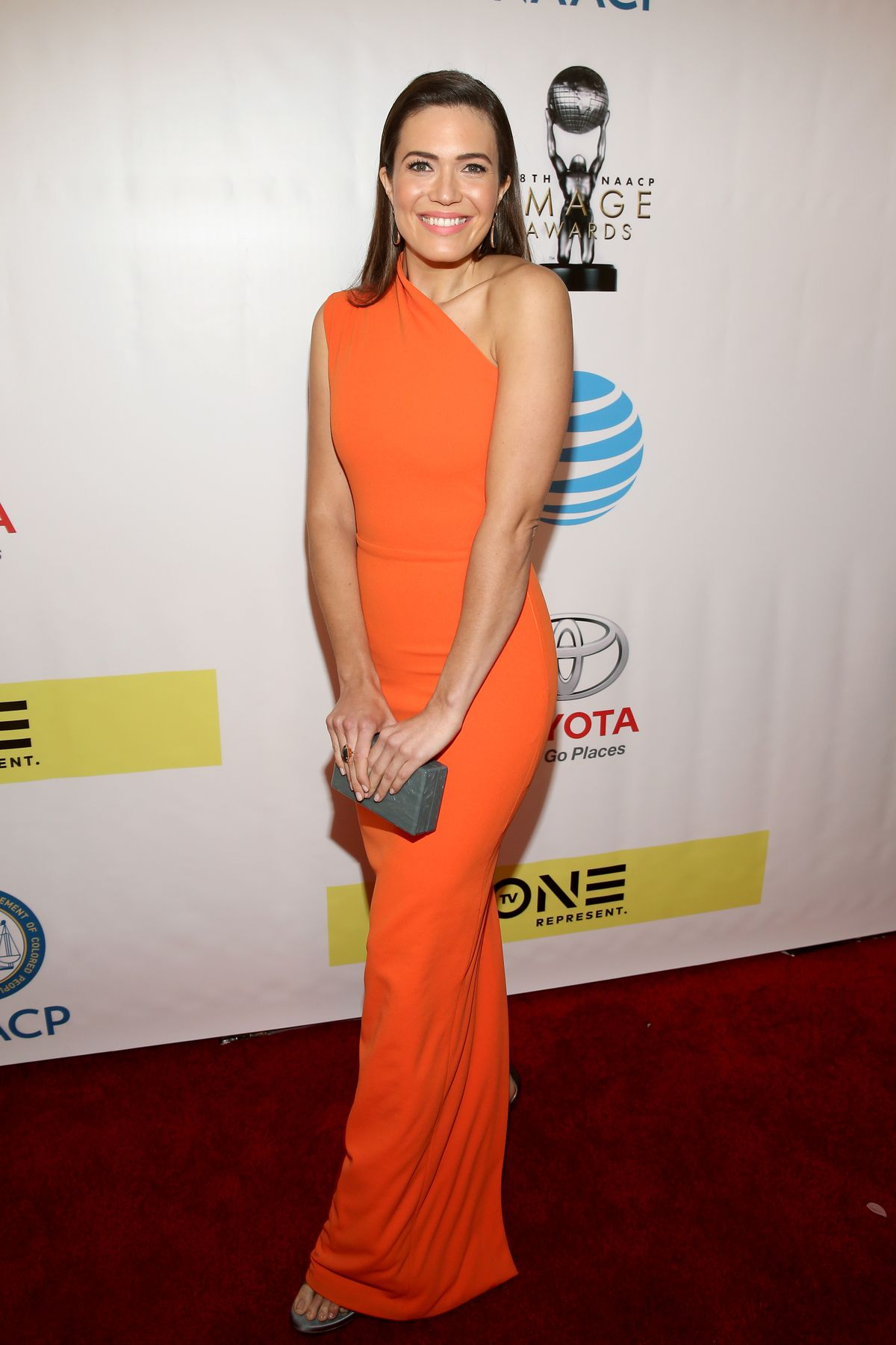 Actress Mandy Moore attends the 48th NAACP Image Awards at Pasadena Civic Auditorium on February 11, 2017 in Pasadena, California.