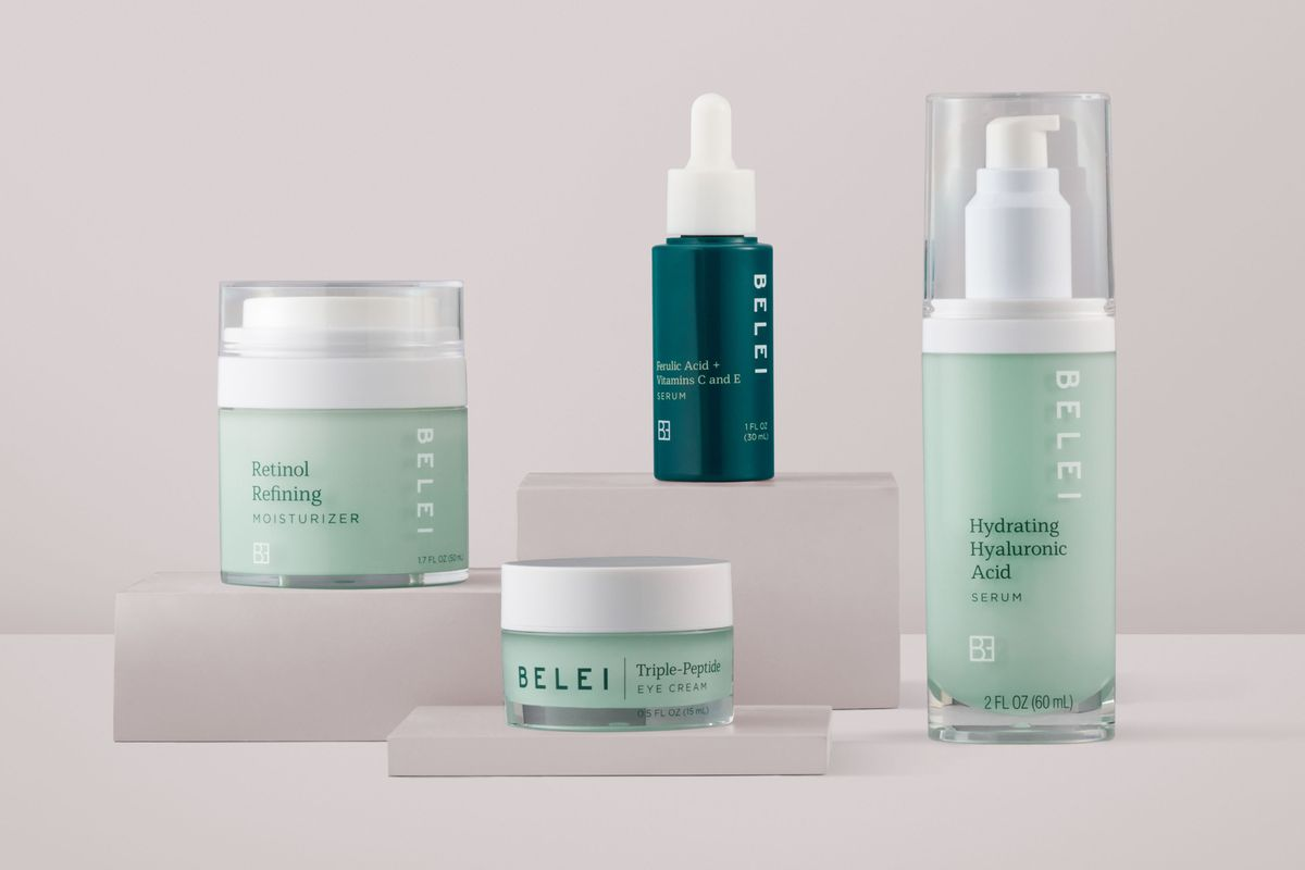 Amazon's Belei skin care line is informed by the ingredients users