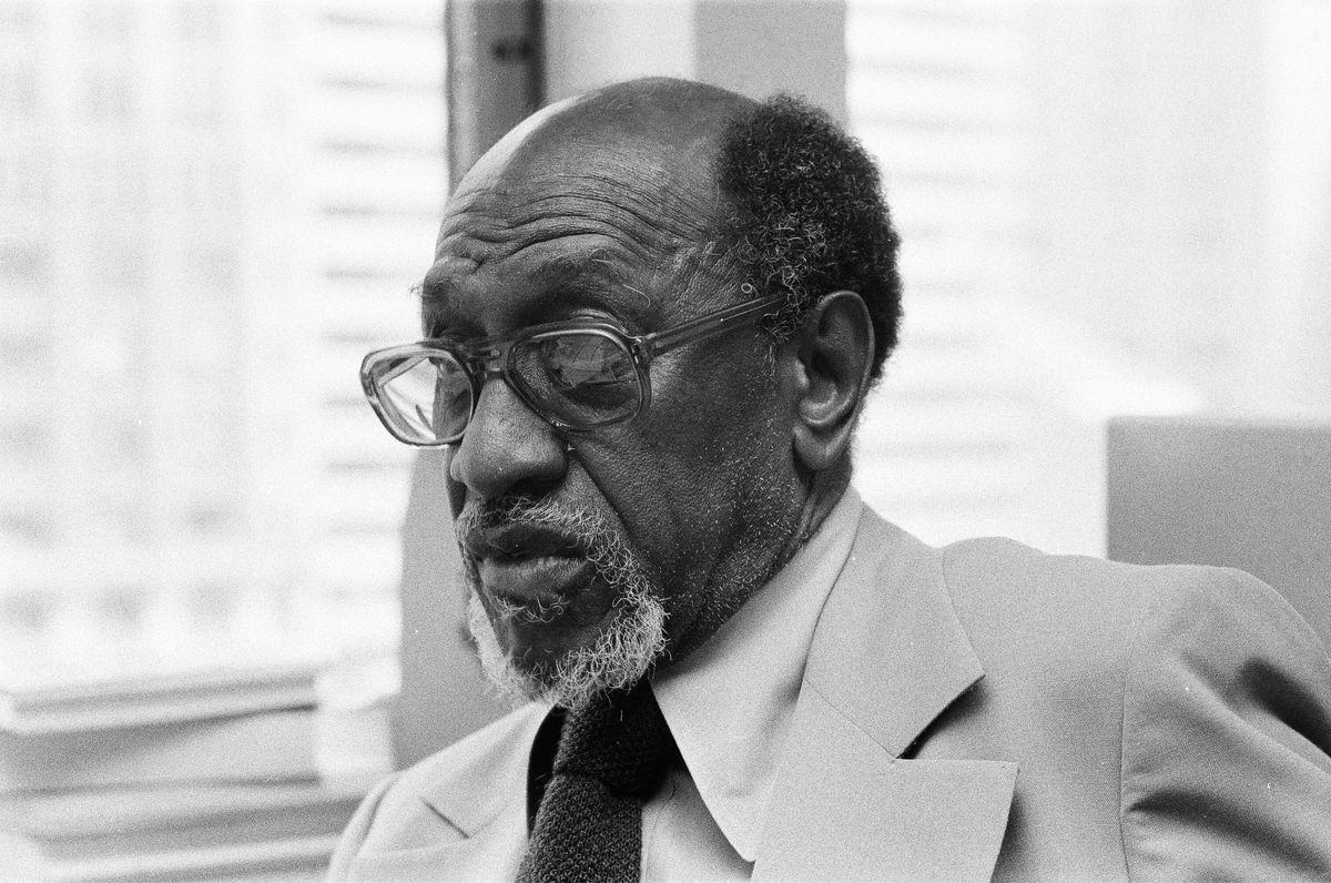 .Timuel Black in 1978.